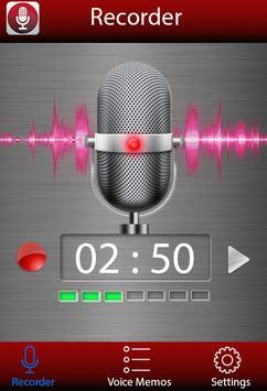 Enregistreur vocal Affiche