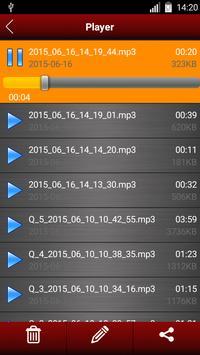 Enregistreur vocal capture d'écran 11