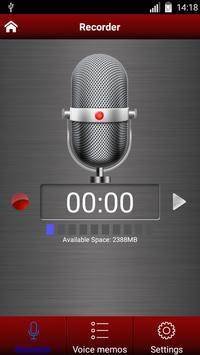 Enregistreur vocal capture d'écran 8