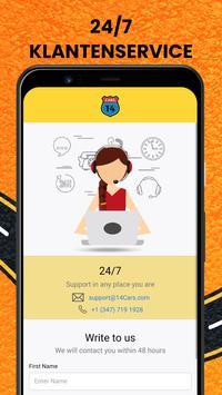 14CARS Autohuur-App. Vergelijk huurauto's in de VS screenshot 6
