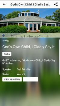 Timothy Lutheran Church screenshot 3