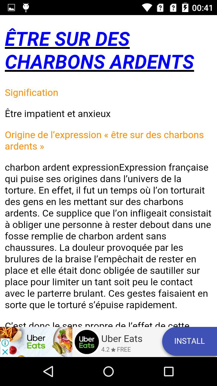 French expressions | french phrases for Android - APK Download