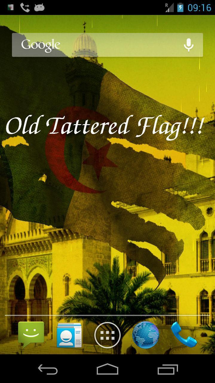 3d Algérie Drapeau Live Wallpaper Pour Android Téléchargez