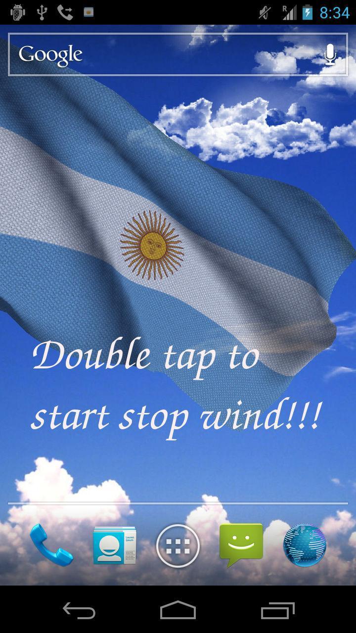 3d Bandera Argentina Fondo Animado For Android Apk Download