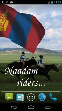 Mongolia Flag screenshot 1