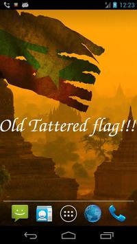 Myanmar Flag screenshot 4