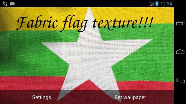 Myanmar Flag screenshot 5