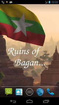 Myanmar Flag screenshot 2