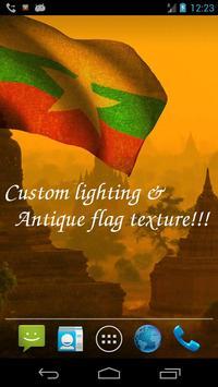 Myanmar Flag screenshot 3
