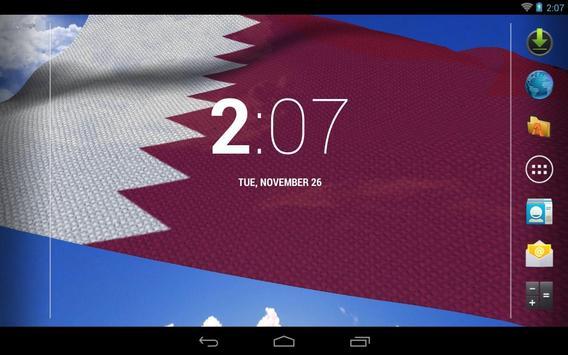 Qatar Flag screenshot 7