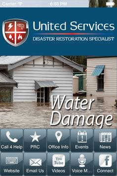 UnitedServices Disaster Relief poster