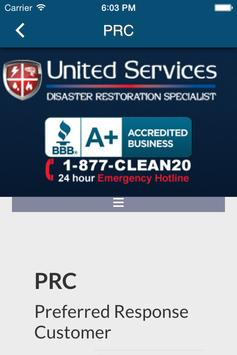 UnitedServices Disaster Relief screenshot 1