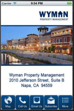 Wyman Property Management poster