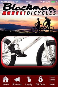Blackman Bicycles poster
