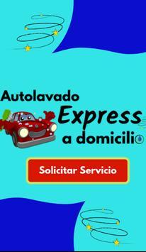 Autolavado Express a Domicilio poster