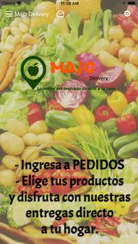 Majo Delivery poster
