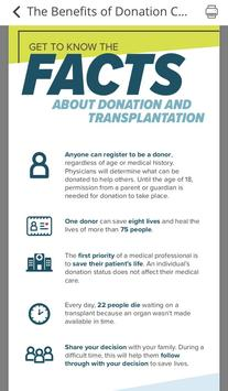 Donate Life Indiana screenshot 1