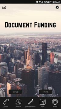 Document Funding poster