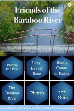 Friends of the Baraboo River poster