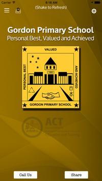 Gordon Primary School poster