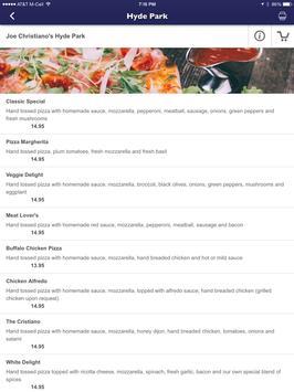 Joe Cristiano's Pizza screenshot 12