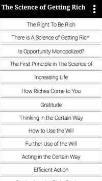 The Science of Getting Rich -Wallace D. Wattles poster