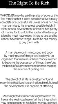 The Science of Getting Rich -Wallace D. Wattles screenshot 2