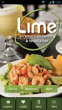 Lime Cantina poster