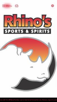 Rhinos Sports Bar poster