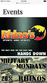 Rhinos Sports Bar screenshot 3
