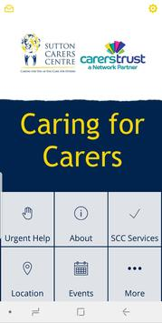 Sutton Carers Centre poster