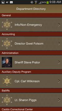 9 Schermata Caddo Parish Sheriff's Office