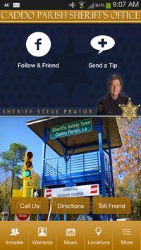 Poster Caddo Parish Sheriff's Office