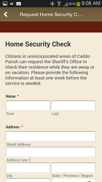 12 Schermata Caddo Parish Sheriff's Office