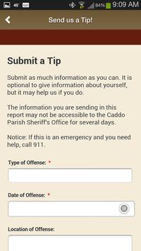 3 Schermata Caddo Parish Sheriff's Office