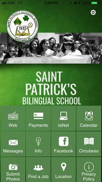 St Patrick's Bilingual School poster