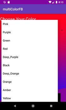 Multicolorfb ✯ - Change Color FB screenshot 4