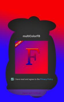 Multicolorfb ✯ - Change Color FB screenshot 5