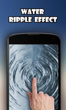 Water Drop - Ripple Effect Affiche