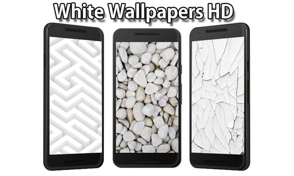 White Wallpapers poster