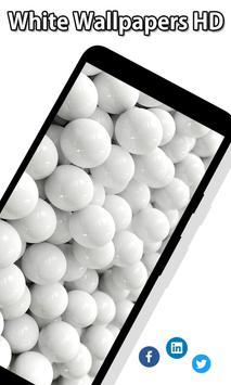 White Wallpapers screenshot 2
