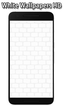 White Wallpapers screenshot 6