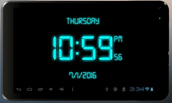 Digital Clock скриншот 5