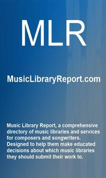 Music Library Report poster