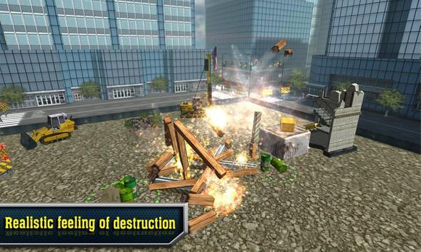 Demolition Master 3D FREE poster