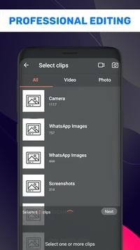Photo Video Maker With Music - Video Editor poster
