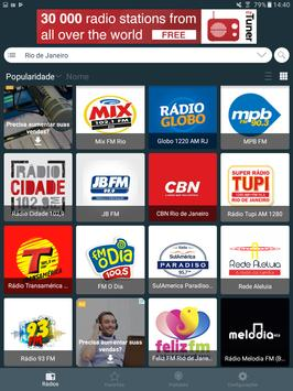 Radio Brazil - Internet Radio, FM Radio, AM Radio screenshot 7