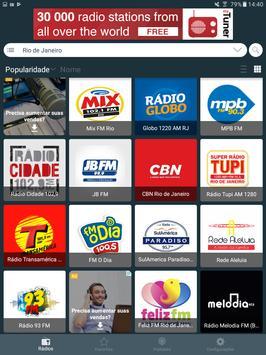 Radio Brazil - Internet Radio, FM Radio, AM Radio screenshot 14