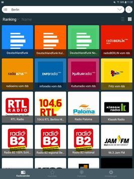 Radio Deutschland: Internet Radio Apps Kostenlos скриншот 4