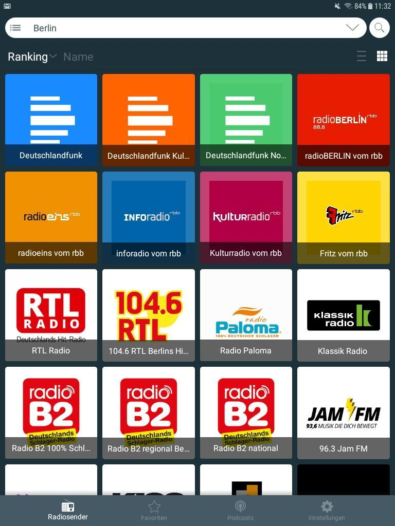 Kostenlos Internet Radio